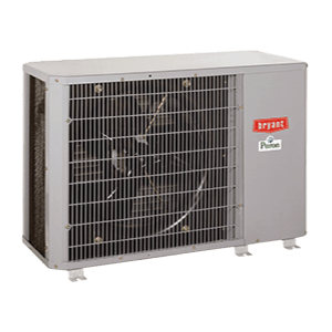 Bryant 124ANS Preferred Series compact air conditioner.