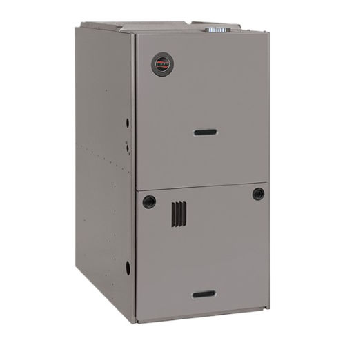 Ruud Downflow Gas Furnace (R801S).