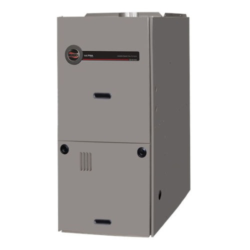 Ruud Downflow Gas Furnace (U802V).